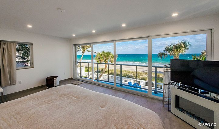 Direct Ocean Views from Luxury Oceanfront Home, 2712 North Atlantic Boulevard, Fort Lauderdale, Florida 33308