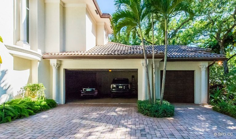 Three Car Garage at Luxury Estate Home, 16260 Bridlewood Circle, Delray Beach, Florida 33445