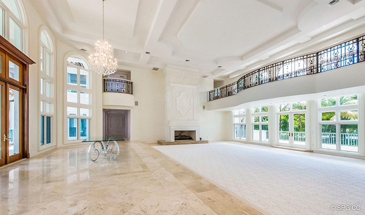 Gorgeous Living Room in Estate Home 709 Idlewyld Drive, Fort Lauderdale, Florida 33301