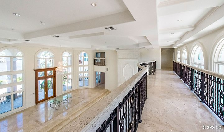 Living Room Terrace in Estate Home 709 Idlewyld Drive, Fort Lauderdale, Florida 33301
