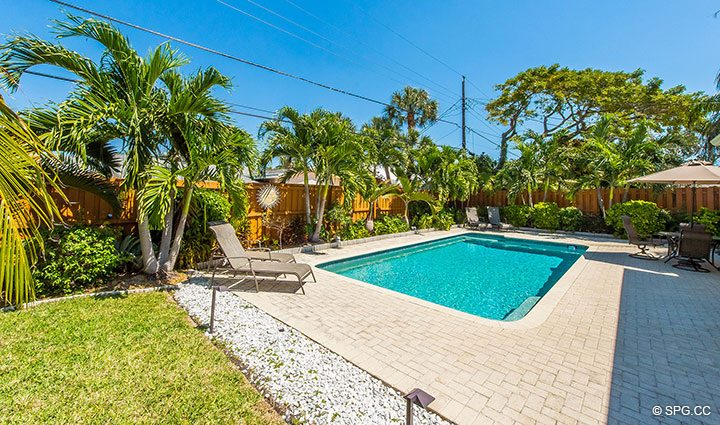 Pool Area for 1911 NE 56th Court, Fort Lauderdale, Florida 33308