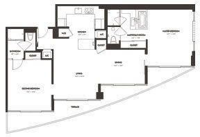 Click to View the Oasis Floorplan