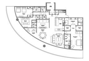 Click to View the Model B Line 1 Floorplan