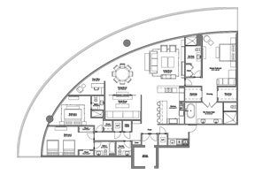 Click to View the Model B Line 2 Floorplan
