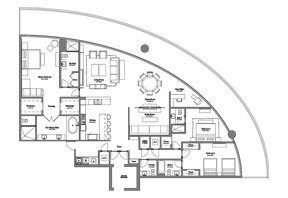 Click to View the Model B Line 3 Floorplan