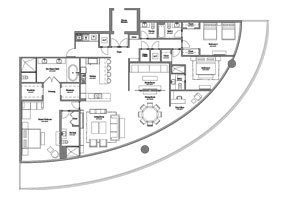 Click to View the Model B Line 4 Floorplan