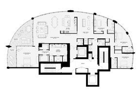 Click to View the Residence A, Tower One Floorplan