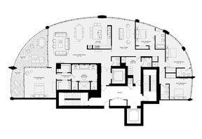Click to View the Residence A, Tower Two Floorplan