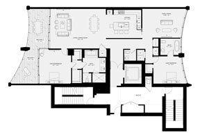Click to View the Residence C, Tower Two Floorplan