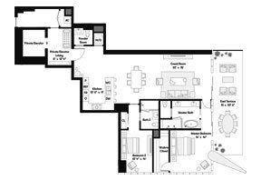 Click to View the Bay Residence SE Floorplan.