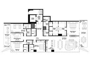 Click to View the Tower Residence S Floorplan.
