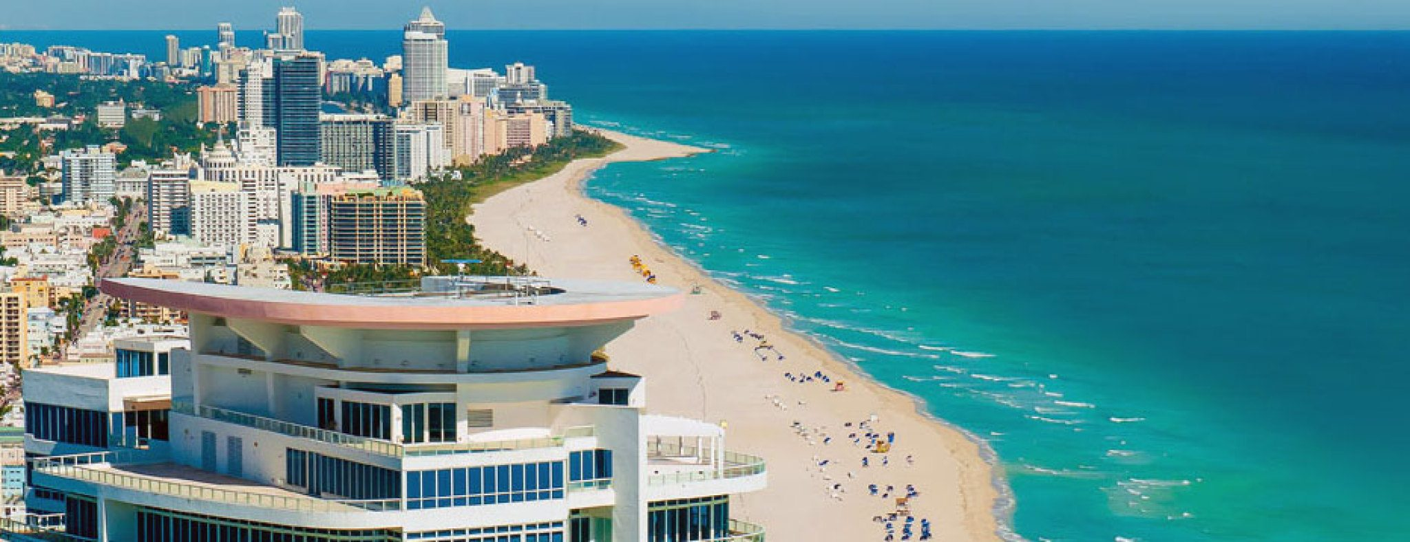 Featured Community - Stunning View of Miami Beach from the Magnificent Continuum South.
