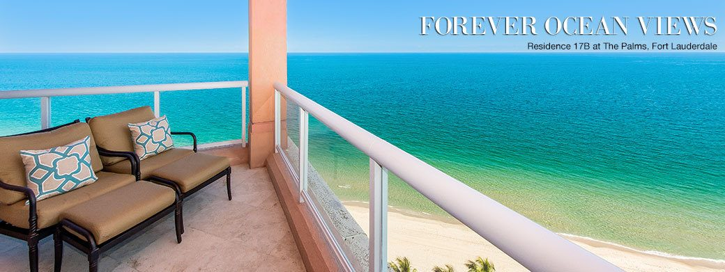 FEATURED RESIDENCE FOR SALE - LUXURY RESIDENCE 17B AT THE PALMS IN FORT LAUDERDALE, FLORIDA