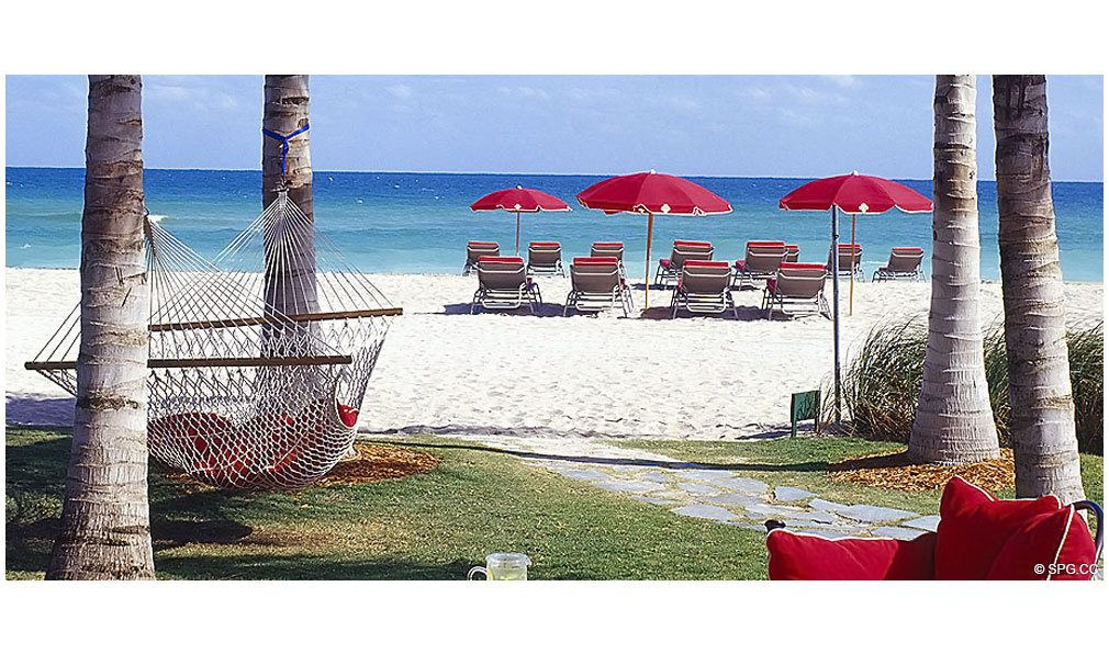 Beach at Acqualina, Luxury Oceanfront Condominiums Located at 17885 Collins Avenue, Sunny Isles Beach, FL 33160