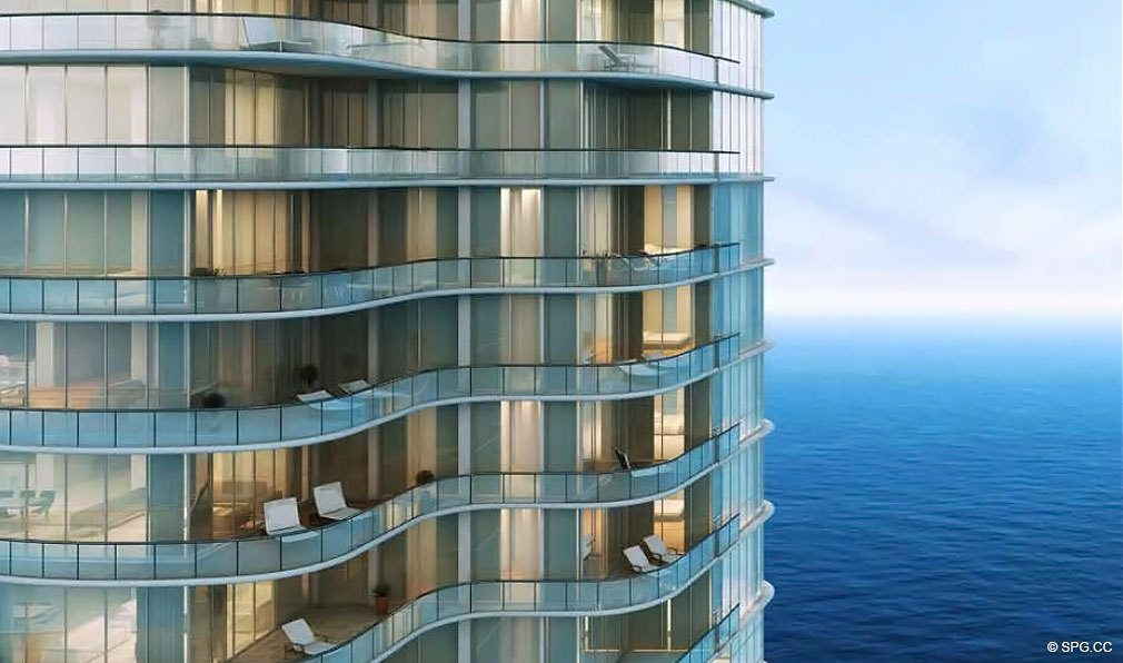 Terraces at Chateau Beach Residences, Luxury Oceanfront Condominiums Located at 17475 Collins Ave, Sunny Isles Beach, FL 33160