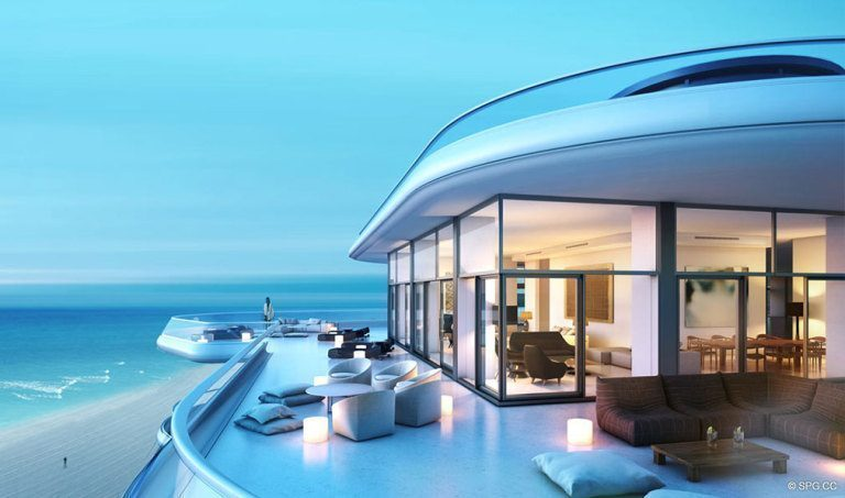 Aleros at Faena House, Luxury Oceanfront Condominiums Located at 3201 Collins Ave, Miami Beach, FL 33140