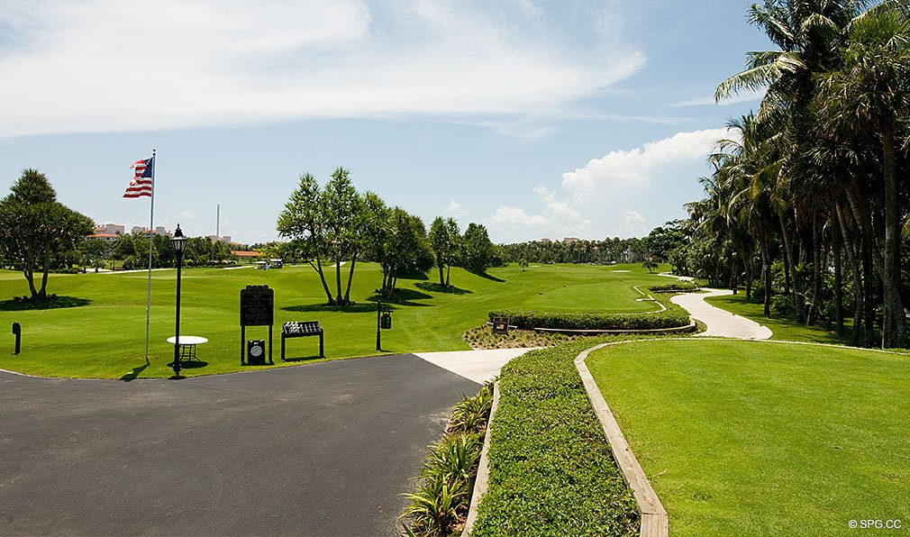 Fisher Island Golf Course, Luxury Oceanfront Condos Located at One Fisher Island Dr, Fisher Island, FL 33109