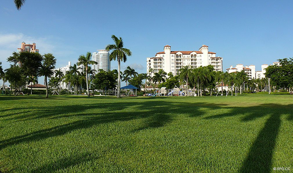 Landscaping at Fisher Island, Luxury Oceanfront Condos Located at One Fisher Island Dr, Fisher Island, FL 33109