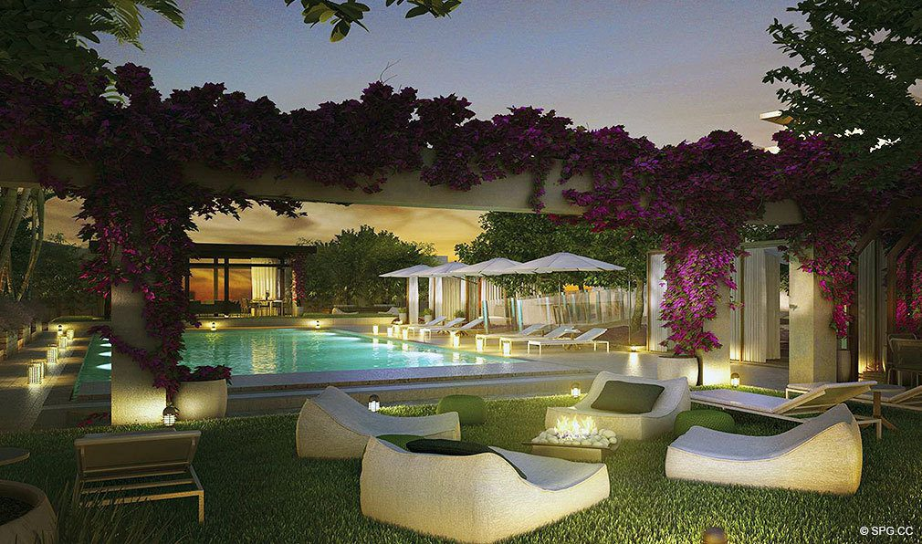 Marea South Beach Rooftop Garden, Luxury Seaside Condominiums at 801 S Pointe Dr, Miami Beach, FL 33139