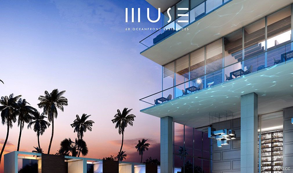 Terraces at Muse, Luxury Oceanfront Condominiums Located at 17141 Collins Ave, Sunny Isles Beach, FL 33160