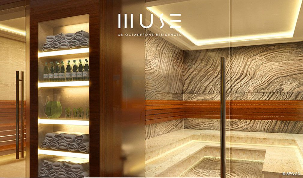 Muse Spa, Luxury Oceanfront Condominiums Located at 17141 Collins Ave, Sunny Isles Beach, FL 33160