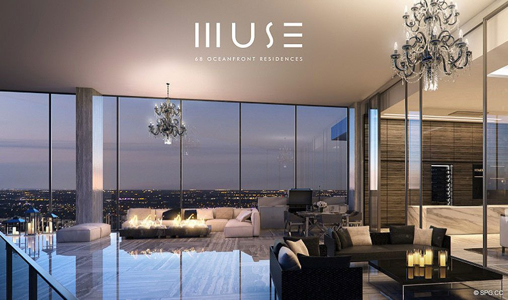 Luxury Muse Residence, Luxury Oceanfront Condominiums Located at 17141 Collins Ave, Sunny Isles Beach, FL 33160