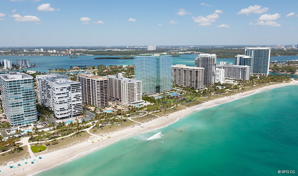 Bal Harbour Beach, Oceana Bal Harbour, Luxury Oceanfront Condominiums at 10201 Collins Ave, Bal Harbour, FL 33154