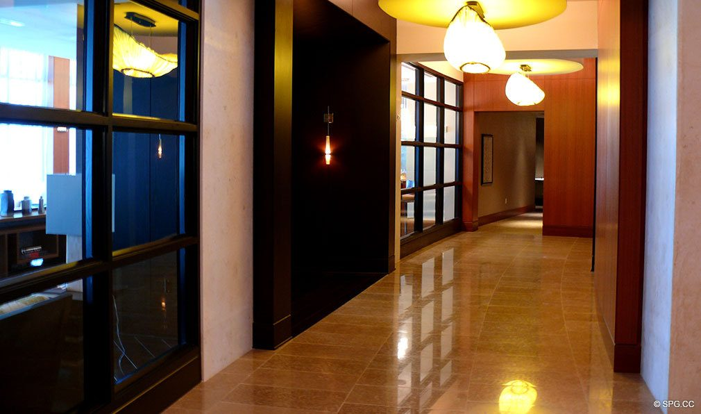 One Bal Harbour Hallway, Luxury Oceanfront Condominiums Located at 10295 Collins Ave, Bal Harbour, FL 33154