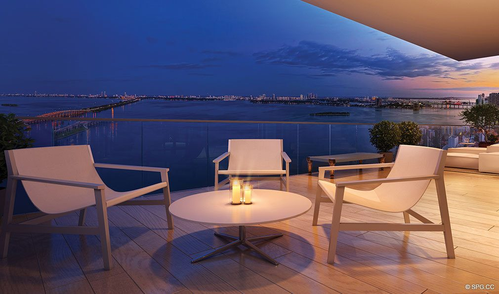 One Paraiso Terrace, Luxury Waterfront Condominiums Located at 701 NE 31st St, Miami, FL 33137