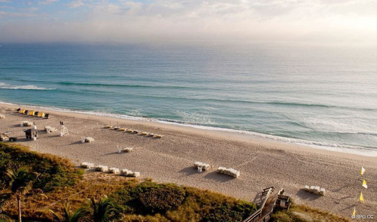 Beach at One Thousand Ocean, Luxury Oceanfront Condominiums Located at 1000 S Ocean Blvd, Boca Raton, FL 33432