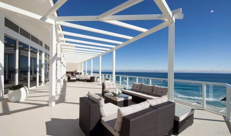 One Thousand Ocean Outdoor Living, Luxury Oceanfront Condominiums Located at 1000 S Ocean Blvd, Boca Raton, FL 33432