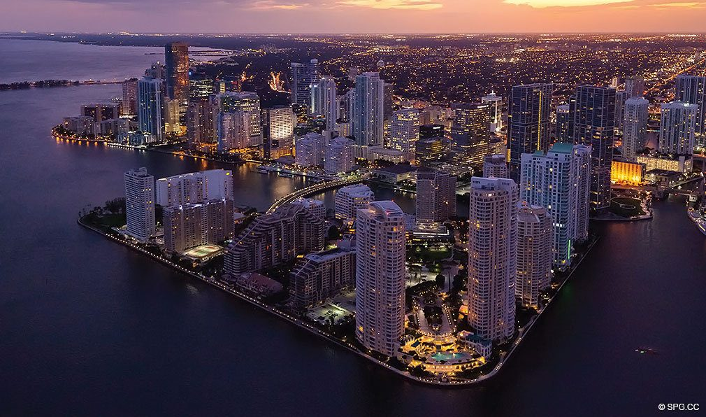 Reach Brickell City Centre Location, Luxury Seaside Condominiums Located at 700 Brickell Ave, Miami, FL 33131