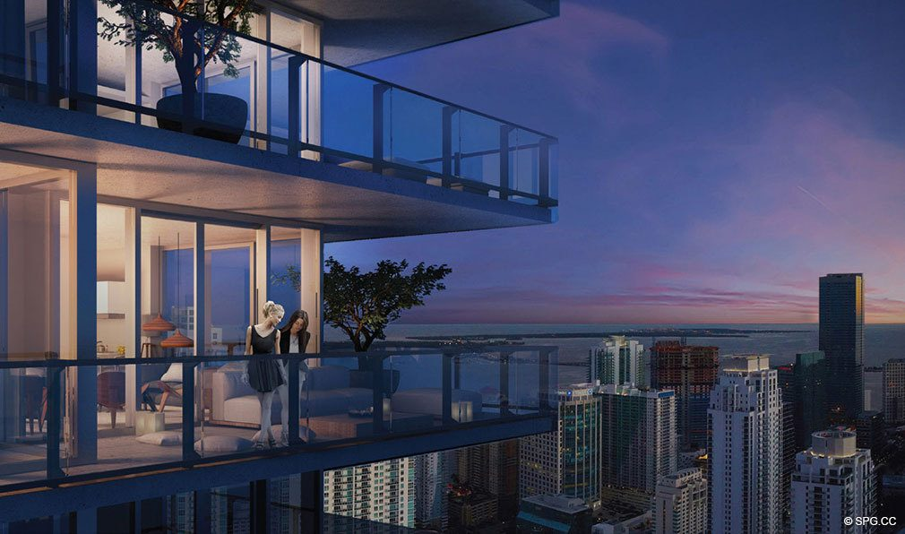 Reach Brickell City Centre Terraces, Luxury Seaside Condominiums Located at 700 Brickell Ave, Miami, FL 33131