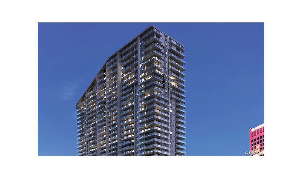 Top of Reach Brickell City Centre, Luxury Seaside Condominiums Located at 700 Brickell Ave, Miami, FL 33131