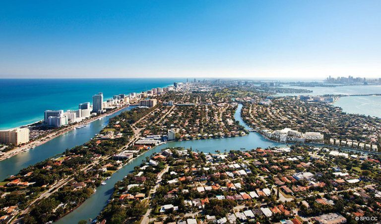 Ritz-Carlton Residences Views, Luxury Waterfront Condominiums Located at 4701 N Meridian Ave, Miami Beach, FL 33140