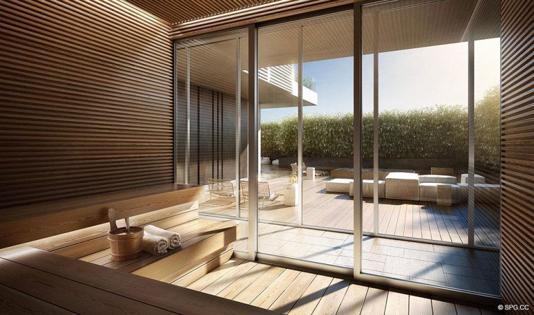 Ritz-Carlton Residences Spa, Luxury Waterfront Condominiums Located at 4701 N Meridian Ave, Miami Beach, FL 33140