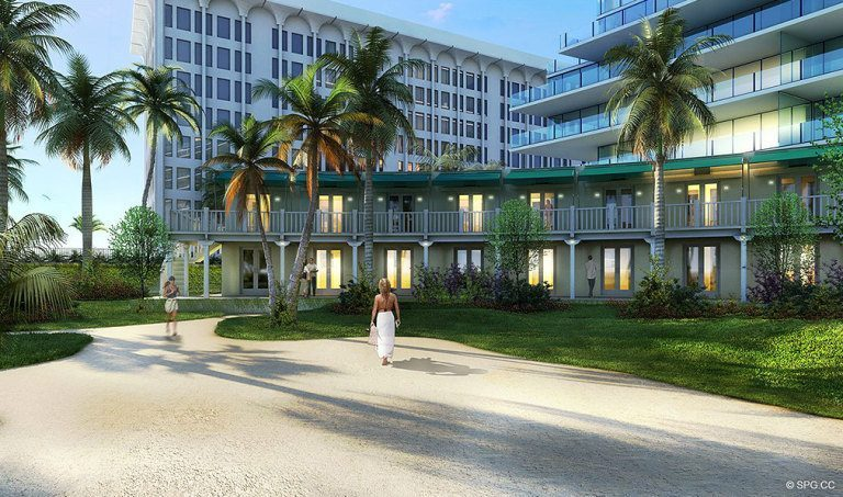 Beachfront at Surf Club, Luxury Oceanfront Condominiums Located at 9011 Collins Ave Surfside, FL 33154