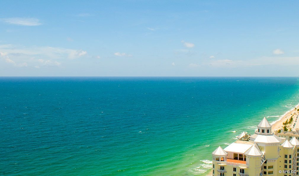 Ocean Views from Palms, Luxury Oceanfront Condominiums Located at 2100-2110 N Ocean Blvd, Ft Lauderdale, FL 33305