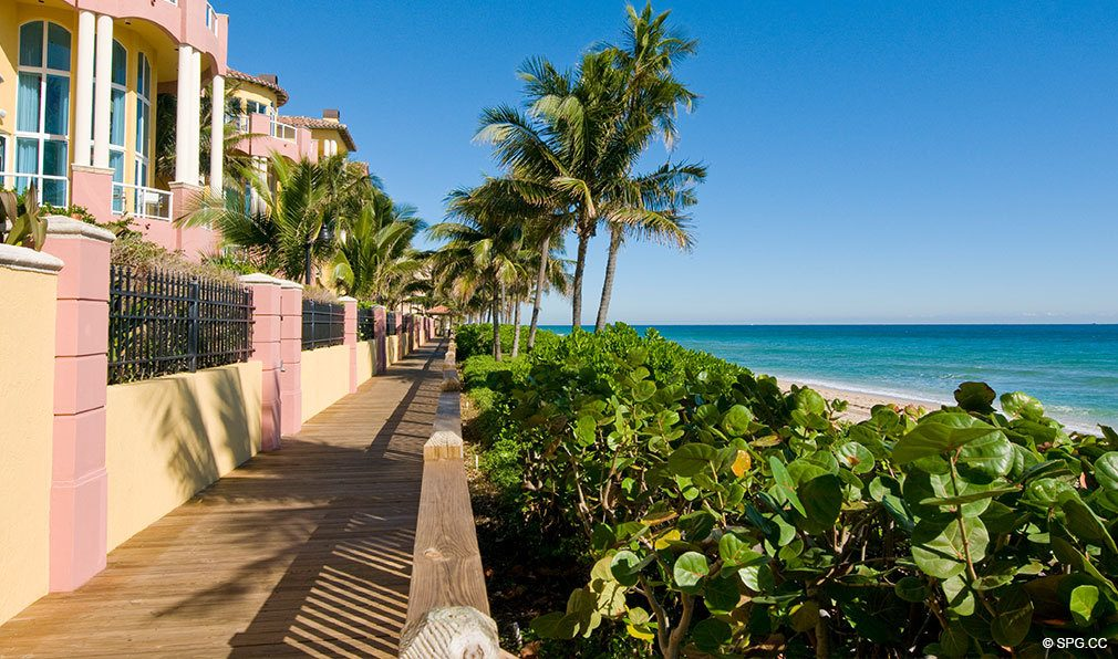 Palms Beachfront Boardwalk, Luxury Oceanfront Condominiums Located at 2100-2110 N Ocean Blvd, Ft Lauderdale, FL 33305