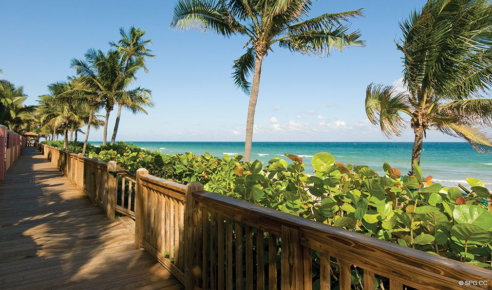 Palms Oceanfront Boardwalk, Luxury Condominiums Located at 2100-2110 N Ocean Blvd, Ft Lauderdale, FL 33305